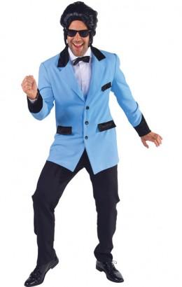 Colbert blauw Fifties