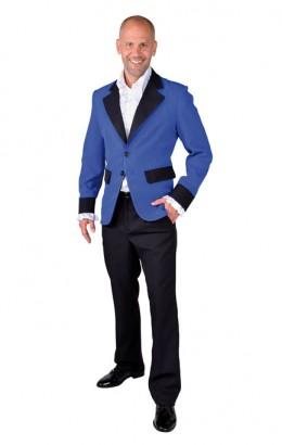 Colbert blauw heren