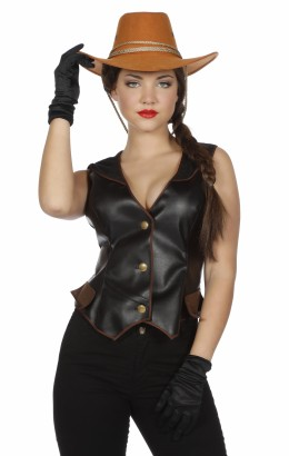 Cowgirl vest luxe