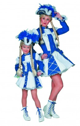 Dansmarieke blauw