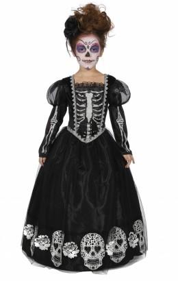 Halloween jurk skelet