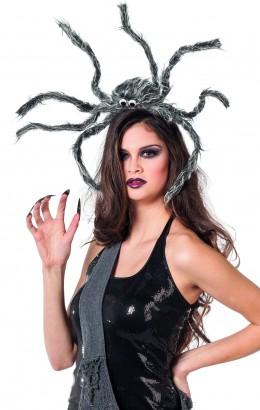 diadeem met grote spin