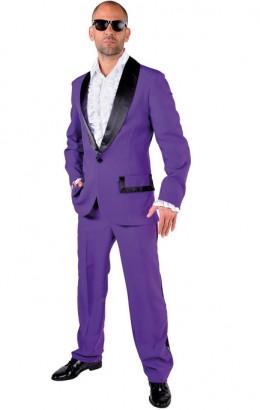 Disco kostuum paars