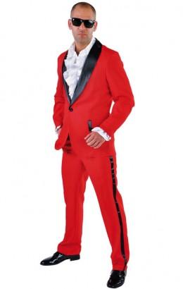 Disco kostuum rood