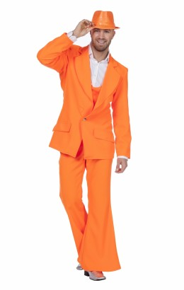 Disco pak/ night fever oranje