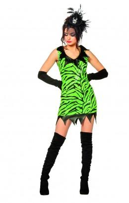 Draak jurkje groen