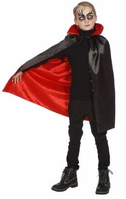 cape haloween zwart