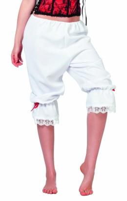 Driekwart broek wit