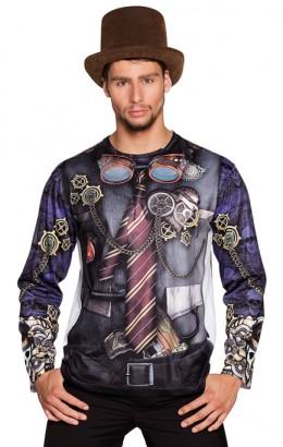 Steampunk shirt heer