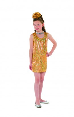 Glitter jurk