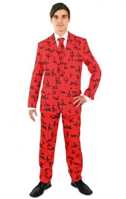 Kostuum kamasutra rood