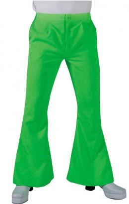 Hippie broek 70s groen