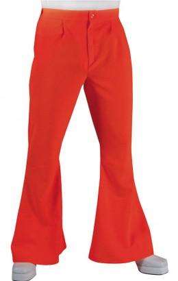 Hippie broek 70s rood