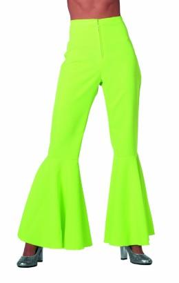 Hippie broek neon groen