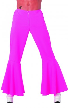 Hippie broek bi-stretch roze