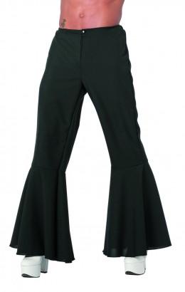 Hippie broek bi-stretch zwart
