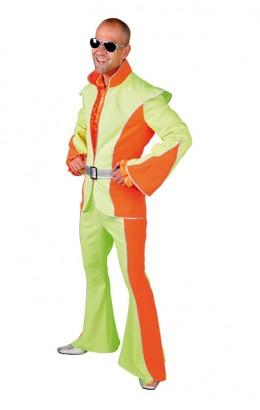 Kostuum neon 70s 80s