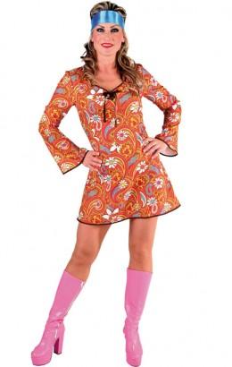 Hippie jurkje 70s retro