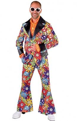 Kostuum hippie smile