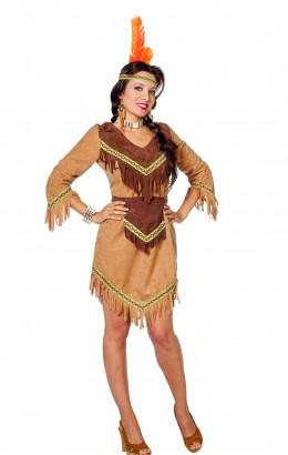 Indianen jurkje met franje