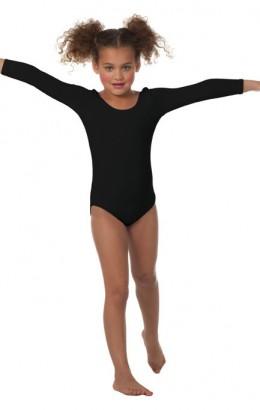 Body voor meisjes zwart