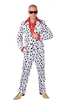 Kostuum dalmatier print