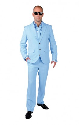 Kostuum licht blauw