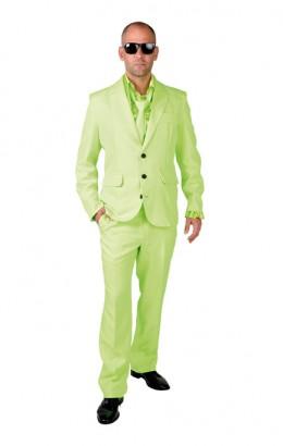 Kostuum lime groen