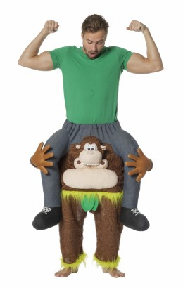 Man op aap