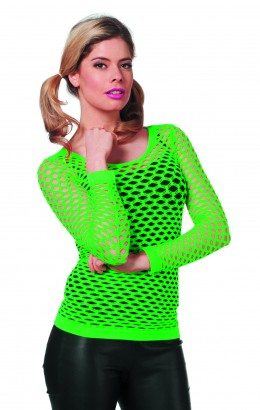 Netshirt groen