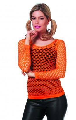 Netshirt oranje