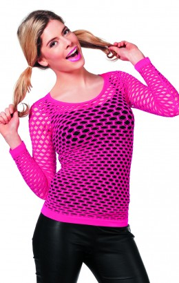 Netshirt pink