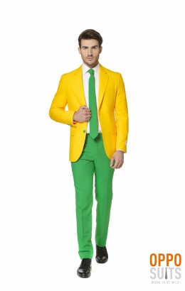 OppoSuit Green and Gold