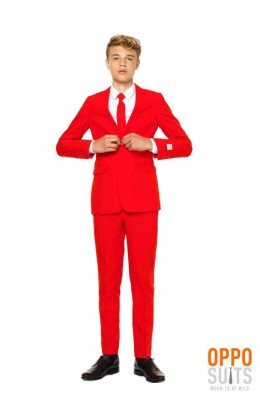 opposuit teen boys red devil