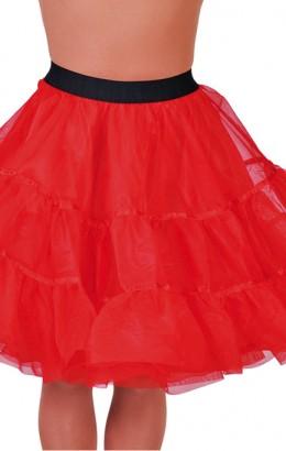Petticoat rood lang