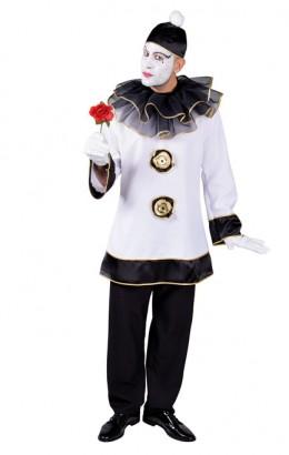 Pierrot kostuum voor heren