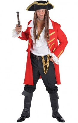 Piratenjas rood