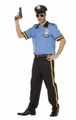 Politiepak blauw
