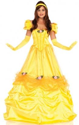 Prinses Belle jurk de luxe