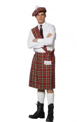 Schotse set rood