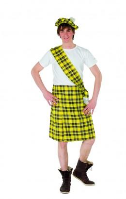Schotse set geel