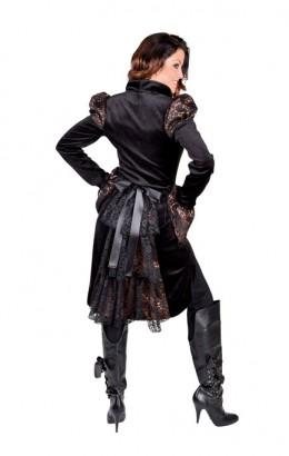 Steampunk jasje/ Welons jasje met kant
