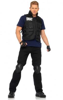 Swat commander kostuum