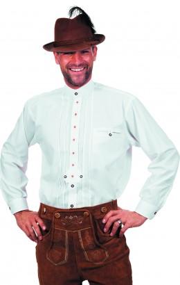 Tirolerhemd wit