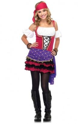 Zigeunerin jurkje Crystal Ball Gypsy