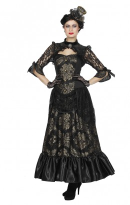 Dickens / Steampunk jurk luxe