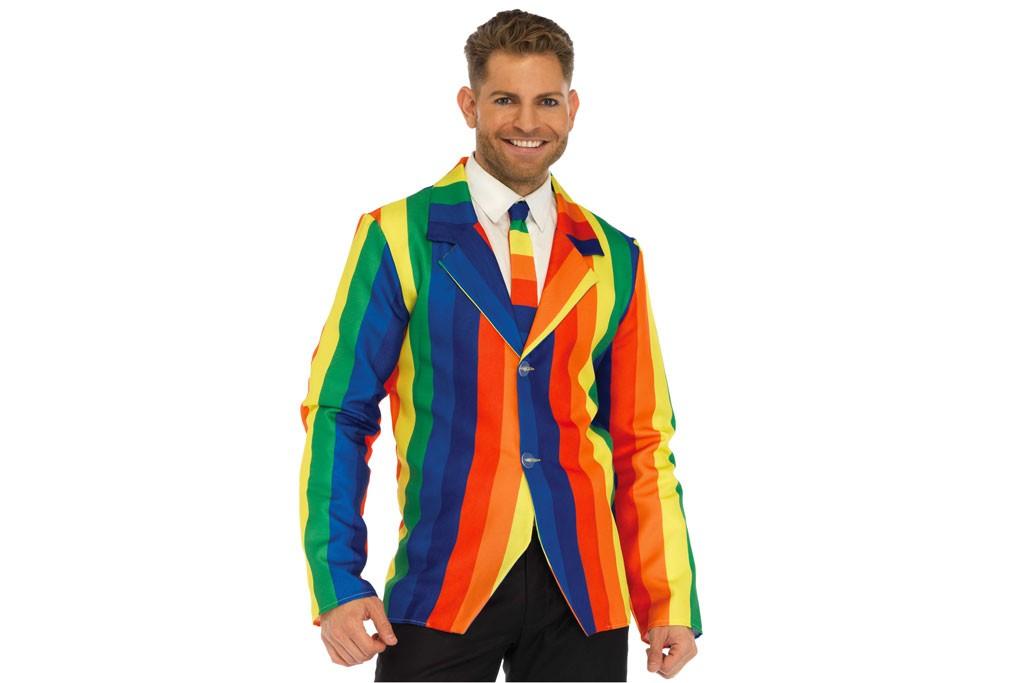 Clownsjas regenboog