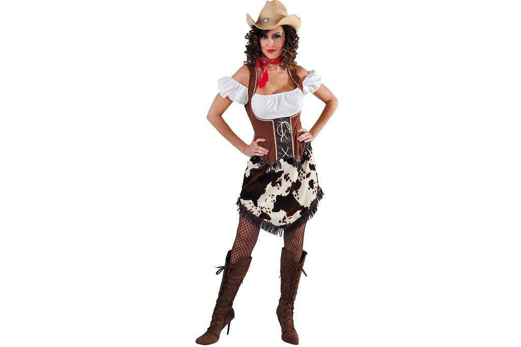 Cowboy jurkje met koe print