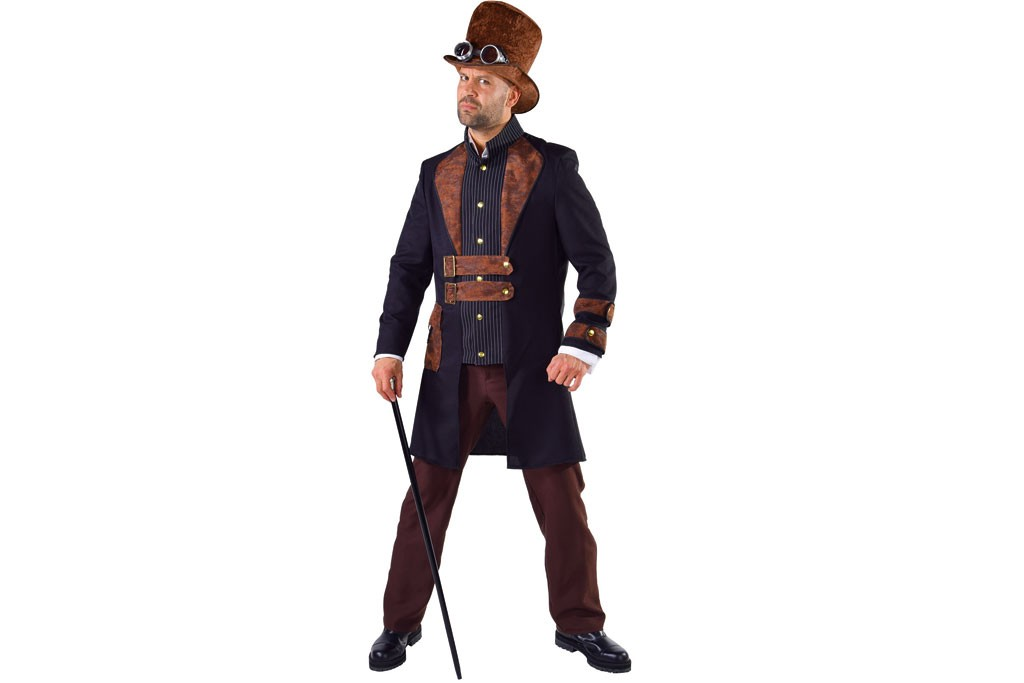 Dickens/ Steampunk kostuum heren