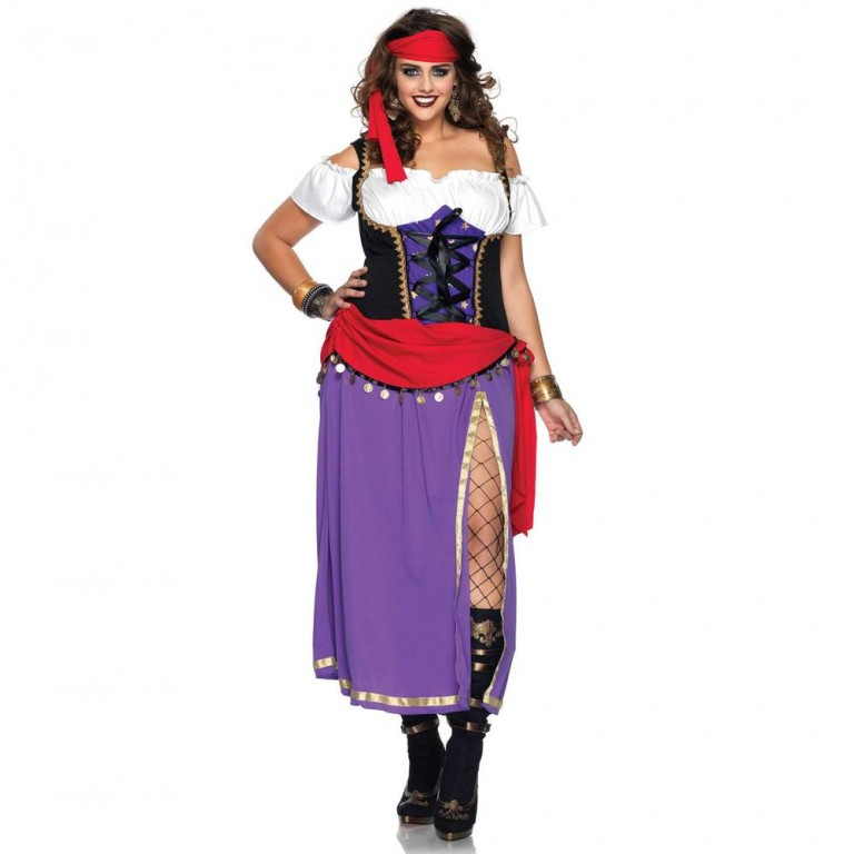 Gypsy zigeunerjurk plus size